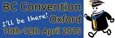 BC convention Oxford 10 au 12 avril 2015