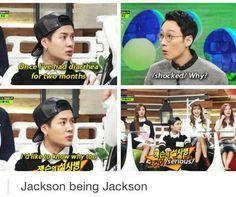 got7 jackson funny meme - Google Search