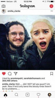 Cast on Social media