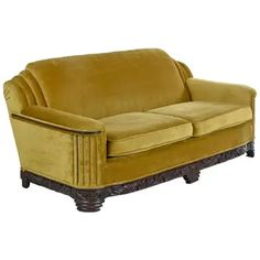 Shop sofas and other antique and modern chairs and seating from the world's best furniture dealers. Modern Leather Sofa, Modern Sofa, Modern Chairs, Vintage Sofa, Vintage Furniture, Pink Velvet Sofa, Art Deco Sofa, Comfy Sofa, Sofa Shop