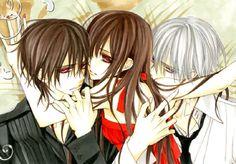 Kaname, Yuki and Zero