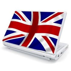 UK Flag Design Skin Cover Decal Sticker for Toshiba Mini NB205 10.1 inch Netbook Laptop Computer Flag, Laptop Covers, Laptop Stickers, Laptop Skin, Laptops, Decals, Gadgets, Free Shipping, Mini