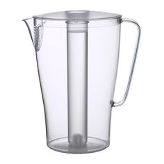 Ikea's IMPULS 2 QT Pitcher with Clear Lid - http://www.teaandcoffeemaker.com/iced-tea-pitchers/ikeas-impuls-2-qt-pitcher-with-clear-lid/