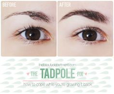 The Beauty Department: Your Daily Dose of Pretty. - HOW TO DISGUISE OVER-PLUCKED BROWS
