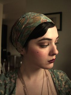 Flapper Beauty: My Jazz Age Lawn Party Look | xoVain