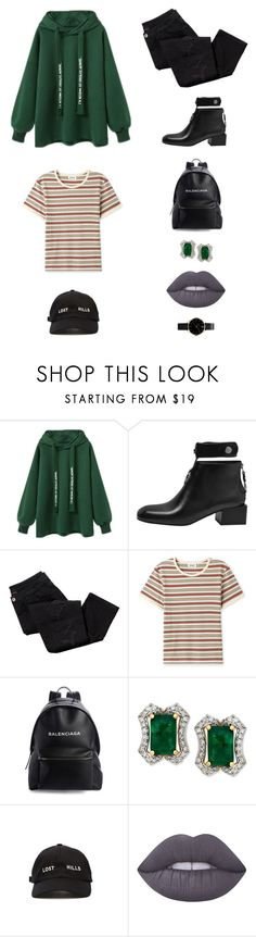 """Yesssh"" by smileforsierra ❤ liked on Polyvore featuring Avon, Balenciaga, Yeezy by Kanye West, Lime Crime and Hoodies"