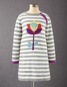 Stripy Logo Dress  #boden  #fromlondonwithlove
