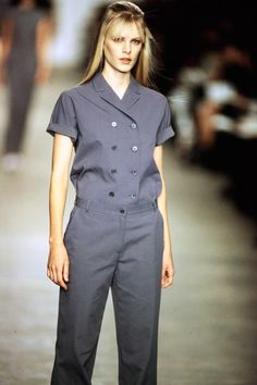 See the complete Calvin Klein Spring 1998 collection and 9 more Calvin Klein shows from the '90s.