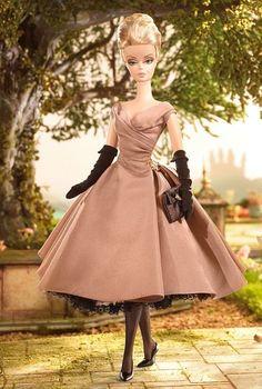 Barbie Silkstone High Tea and Savories Barbie Giftset ~NRFB factory tissued