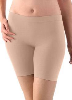 Jockey Skimmies are a whole new kind of underwear that smooth lines under your clothes and eliminate chafing! Try on our Jockey slip shorts today. Plus Size Womens Clothing, Clothes For Women, Thigh Chafing, Trends, Pullover, Cotton Style, Boy Shorts, Girls Shopping, Shapewear