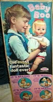 Baby Boo doll; I received this at Christmas when I was about 4-5. I was able to watch my own daughter play with it 25 years later. It still cried and had original clothes. Alas, Boo did not make it through our recent move.
