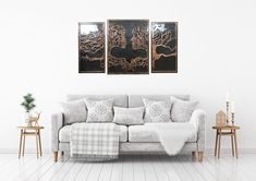 Modern wall and home decor. The dance of art with copper. Fully handmade copper designs. It will add beauty to your home. Office Wall Art, Office Walls, Canvas Wall Decor, Wall Art Decor, Copper Wall Art, Copper Crafts, Divider Design, Modern Crafts, Islamic Wall Art