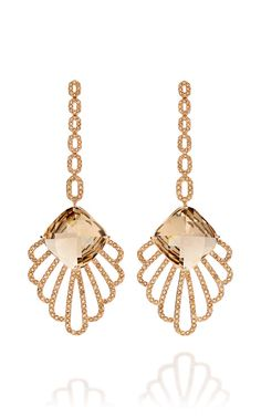 toffee earrings by Carla Amorim