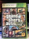 Grand Theft Auto 5 V XBox 360 With Case