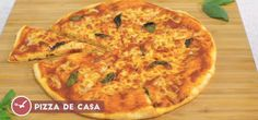 5. Pizza Margherita de casa  | Quick Snacks Pitta, Quick Snacks, Pizza Margherita, 5 Pizza, Quiches, Food, Drinks, Life, Home