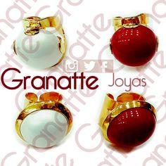 #anillos #goldfilled #granatte #perlas #perlaShell #accesorios #joyas