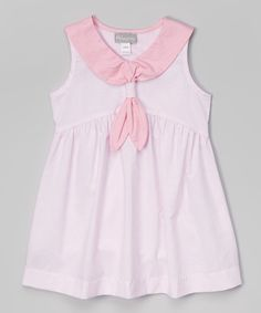 Another great find on #zulily! Alouette Pink Sailor Dress - Infant by Alouette #zulilyfinds