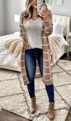 35 Lovely Fall Outfits for Women This Season ~ Fashion & Design - Winter Outfits for Work Fall Winter Outfits, Autumn Winter Fashion, Women Fall Outfits, Simple Fall Outfits, Fashion Fall, Fashion Trends, Winter Clothes, Fashion 2018, Spring Outfits