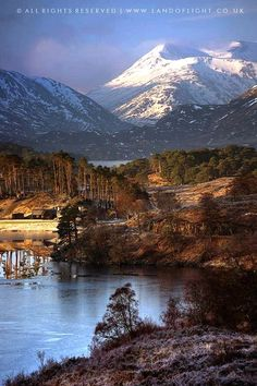 Loch Affric, Scotland - inspiration for The Runaway Bride, a #medieval #Scottish romance by #ClaireDelacroix #Ravensmuir