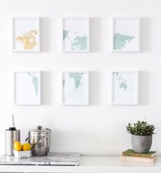 Now that Fall is here, we're thinking about redecorating our homes here at Brit + Co, which means it's the perfect time for some DIY inspiration. There are literally thousands of different ways to make beautiful art for the walls of your home or office (along with posters and prints). But we narrowed it down a little to our top 100 favorite ideas. Whether you're into metallics or neon, color block or obmre, 2D or 3D there's an idea here to fit your home and your budget. Be sur...
