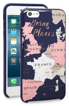 'going places' iPhone 6 Plus & 6s Plus case kate spade #travel