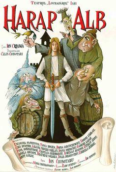 """Harap Alb"" la Teatrul Luceafarul – PREMIERA | IasiFun - site-ul tau de timp liber! Romania, Teaching, Drawings, Books, Fictional Characters, Ideas, Characters, Libros, Book"