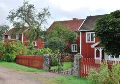 Norrgården, Mellangården, Sörgården. Bullerbyn!
