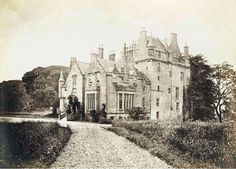 Cassillis House Maybole Ayrshire 1860's