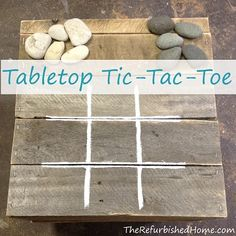 Create a Simple Tabletop Tic Tac Toe Game