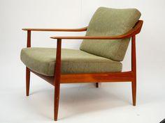 Teak Sessel, Mid Century scandinavian danish Easy Chair 60er 70er eames in Möbel & Wohnen, Möbel, Sofas & Sessel   eBay