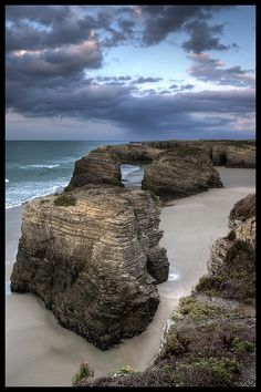 Beach of the Cathedrals, Lugo