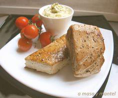 Ventresca de atún Campos a la plancha con salsa tártara