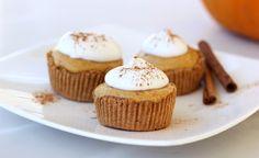 Mini Pumpkin Pie Tarts - Against All Grain - Award Winning Gluten Free Paleo Recipes to Eat Well & Feel Great