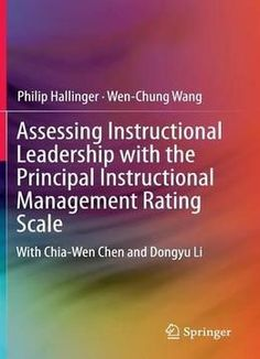 Assessing Instructional Leadership With The Principal Instructional Management Rating Scale PDF