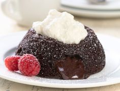 Gluten-Free Lava Cakes: I DO mean to burst your chocolate bubble! | King Arthur Flour – Baking Banter