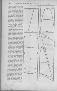 Godey's Lady's Book Volume 101 July To December 1880 Skirt pattern page 480