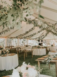 garden wedding tented wedding reception ideas with lights and greenery wedding tent reception ideas Wedding Ceremony Ideas, Outdoor Wedding Decorations, Our Wedding Day, Perfect Wedding, Dream Wedding, Wedding Themes, Reception Ideas, Wedding Marquee Decoration, Wedding Parties
