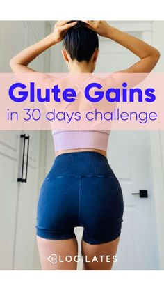 Buttocks Workout, Leg And Glute Workout, Full Body Gym Workout, Slim Waist Workout, Fitness Workout For Women, Glute Workouts, Fitness Tips For Women, Pilates Workout, Gym Workout For Beginners