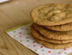 white chocolate chip cookies!