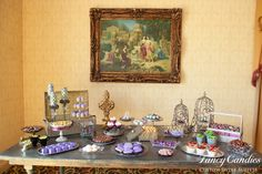French Provincial style candy buffet