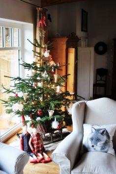 ein Schlitten - ein schöner Untersatz für den Christbaum