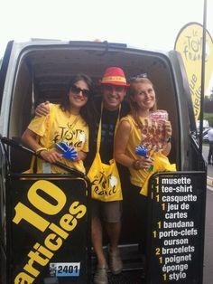 Carlos Verde salió de España y en su paso por nuestro país vecino ¡no pudo resistirse al Tour de Francia!