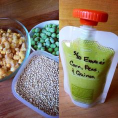 Emma's Frozen Corn, Peas, & Quinoa