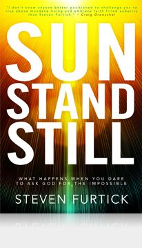 THIS is a book I will read again and again. It is all about audacious prayer and letting God do INCREDIBLE things through you. Read it! Sun Stand Still by Steven Furtick