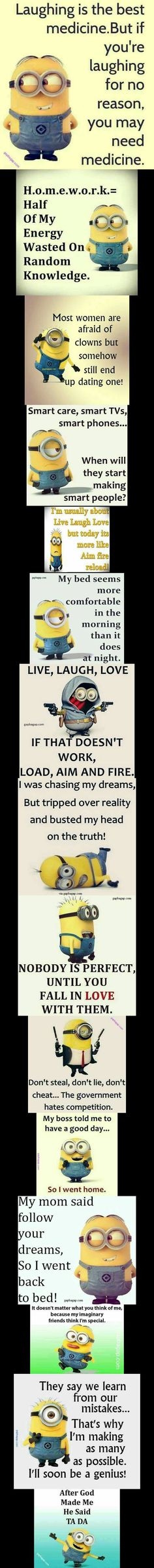 Top 15 Funny Minions Quotes
