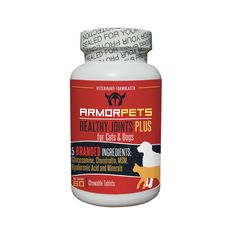 Glucosamine for Dogs and Cats: Five Branded Ingredients - Bone and Joint Supplement for Dogs by ArmorPets -- You can get more details here : Dog supplies for health