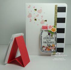 Jar of Love Shaker Easel Card