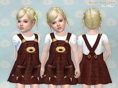 lillka's Brown Bear Dress