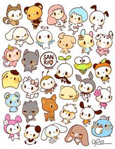 Best 25+ Kawaii Drawings ideas on Pinterest   Kawaii cat, Kawaii stickers and Cute animal drawings kawaii
