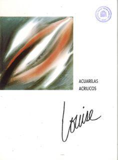Óleos y acrílicos de Louise (Luisa Garcimartín Molina) en la Caja de Ahorros de Cuenca y Ciudad Real Enero 1990 #CajaAhorrosCuenca #Cuenca #Louise